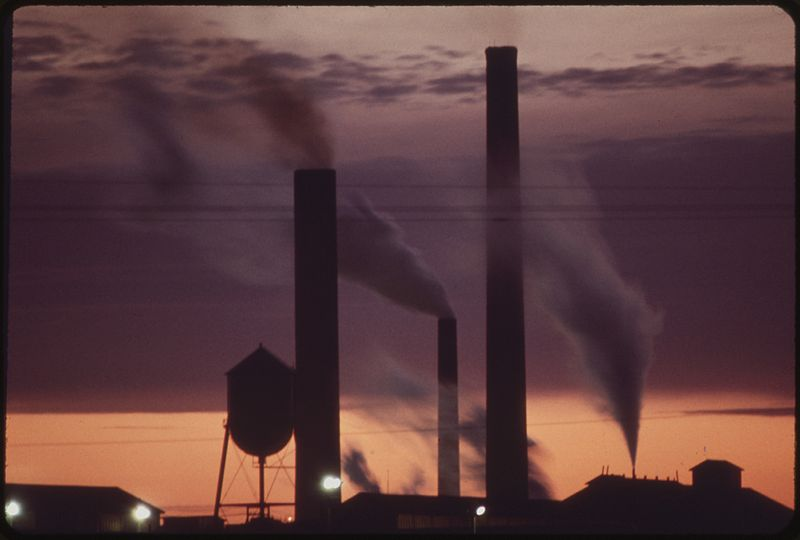 Pollution from Factories = Climate Change